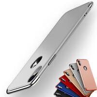 Luxe Slim Antichoc Coque Case Cover pour Apple iPhone X Etui Housse Verre Trempe
