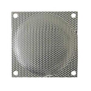 120mm Silver Steel Mesh Fan Filter (Guard)