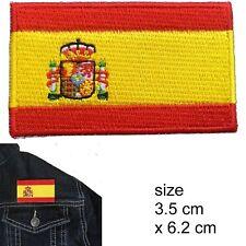 Spain flag iron on patch Bandera de España la Rojigualda Spanish iron-on patches