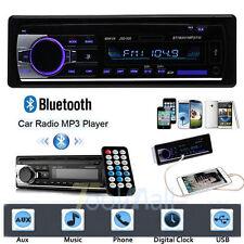 Car Stereo Bluetooth Audio 1 DIN In-Dash FM Aux Input Receiver SD USB MP3 Radio