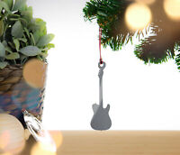 Electric Guitar - Christmas tree bauble, decoration, ornament