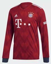 Adidas Men's FC Bayern Munich Football Home Long Sleeve Jersey 2019 SZ 2XL New!!