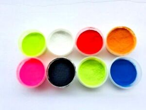 POWDER PAINT for JIG HEADS SPOONS.. 1oz JAR 9 STANDARD COLORS /in store 2oz-3oz