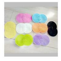 17*11CM Makeup Brush Cleaner Pad Washing Scrubber Board Cleaning Mat Tool UK
