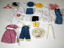 Small Doll Clothing Lot Madeline Kelly Chelsea Dress Shirts Tights TLC
