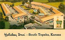 Holiday Inn South Topeka Kansas KS aerial view Postcard