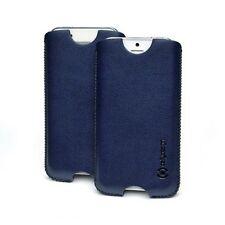 CELLY CRISXL02 CUSTODIA VERTICALE ECOPELLE PU CASE PER IPHONE 5 NAVY BLUE