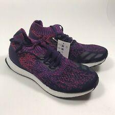 Adidas Women's UltraBoost Uncaged Legend Purple Shock Red B75862 Size 7.5