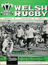 Welsh Rugby MAG NOV 1970, Bridgend SPORT, merthy porthcawl, John Dodd di Neath