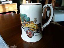 SADLER ENGLAND BEER STEIN Vintage DION BOUTON 1903 antique auto car automobile
