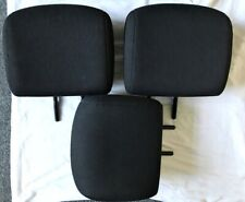 Peugeot 206 Rear Headrests Restraints x 3 Black