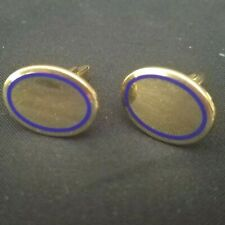 Authentic Cartier 18kt Solid Gold Oval Cuff links