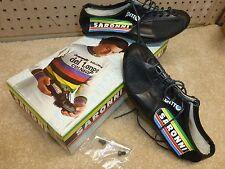 "Vintage 1980's - NOS - Detto Pietro Art. 88 - ""Saronni"" Shoes - Size 37 - Black"