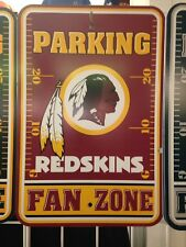 Washington Redskins Fan Zone Parking Sign - New Item!