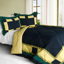 [Light Impression] Quilted Patchwork Down Alternative Comforter Set (Twin Size)