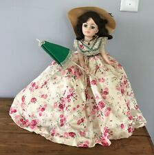 "Vintage Madame Alexander SCARLETT O'Hara 21"" Portrait Doll #2255"
