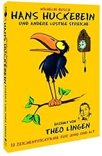 Hans Huckebein and Other Stories by Theo Lingen (13 Cartoons) Bob Godfrey DVD