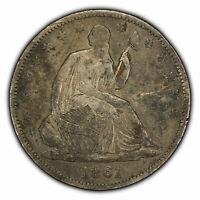 1861-O 50c Seated Liberty Half Dollar - VF Coin - Civil War Year - SKU-Y2095