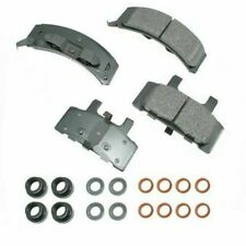 Akebono Ceramic Brake Pad Set for Chevrolet ACT369 Made in USA - Ships Fast!