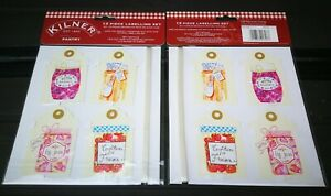 Kilner 13 Piece Pantry Labelling Set - Make the perfect homemade gift - NEW