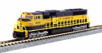 Alaska Railroad SD70MAC Diesel Locomotive Cab #4006 Kato 176-6408 w/DCC N Scale