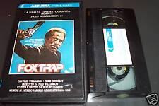 [1589] Fox trap (1986) VHS Williamson Connelly