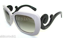 Authentic PRADA Baroque Grey Sunglass 27O 27OS - QE00A7  *NEW*