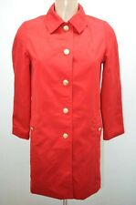 MANTEAU IMPER TERGAL 36 T36 S ROUGE COAT