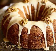 "☆Layered Goodness!☆Sour Cream Bundt Coffee Cake ""RECIPE""!☆Prize Winner!☆"