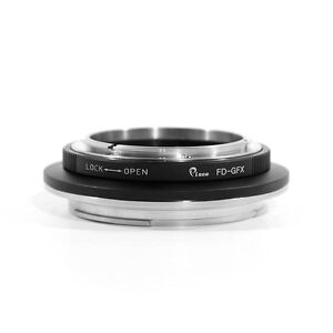 Pixco FD-GFX Adapter for Canon FD Mount Lens to Fuji Fujifilm G-Mount 50S Camera
