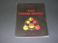 Esotérisme astrologie M. Chanteresnes J. Solesmes Traité d'astrologie 1953
