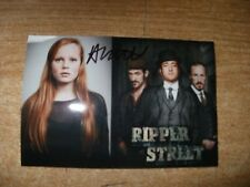 SIGNED PHOTO-ANNA BURNETT-MATILDA RIPPER STREET