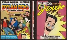 DYLAN DOG SPECIALE 6 SETTE ANIME DANNATE CON ALBETTO GROUCHO - LUGLIO 7/1992