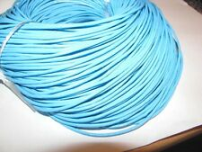 10M  LIGHT BLUE GENUINE LEATHER CORD 2mm