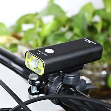 Waterproof USB Rechargeable Bike Headlight Cycling LED Light Flashlight Torch