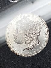 GSA 1884-CC Morgan Dollar Holder No Box GEM BU UNC old silver $1 coin