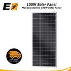 100W 12V Monocrystalline Solar Panel for RV, Boat, Marine, Cabin, Solar Project