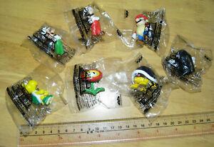 Banpresto Nintendo Super Mario Bros. Characters Figure Collection 2006 7 pieces