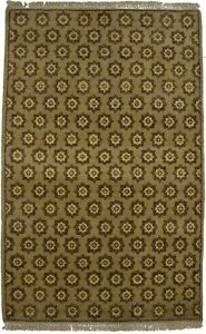 Modern Allover Tribal Design 3X5 Contemporary Hand-Knotted Oriental Rug Carpet