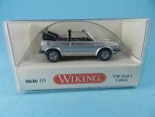 WIKING 004603 VW GOLF I CABRIO SILBER 1:87