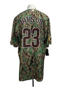 San Diego Padres Jersey Camo Tatis Jr. L XL XXL XXXL