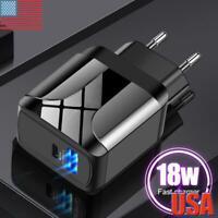 18W/3A Quick Charge QC3.0 USB Hub Wall Fast Charger Adapter EU/UK/US Plug New