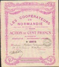 LES COOPÉRATEURS DE NORMANDIE (ROUEN 76) (H)