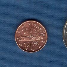 Gréce - 2008 - 1 centime d'euro - Pièce neuve de rouleau -