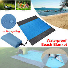 Waterproof Beach Mat Outdoor Picnic Blanket Rug Sandless Quick Dry Pad 275*215cm