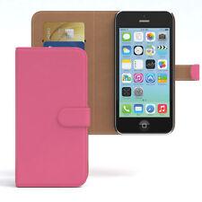 Tasche für Apple iPhone 5C Case Wallet Schutz Hülle Cover Pink