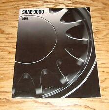Original 1991 Saab 9000 Series Sales Brochure 91