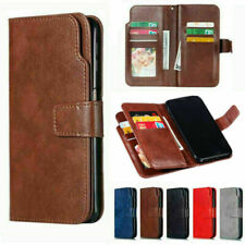 For iPhone 11 Pro Xs Max X 7 8 Plus 5 SE Magnetic Flip Leather Case Wallet Cover