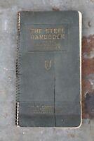 The Steel Handbook Union Drawn Steel Industrial Book Vintage Machine Tools Old