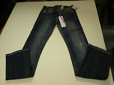 UNIONBAY DISTRESSED STRETCH TRUE BOOT JEANS JUNIOR SIZE 0 NWT